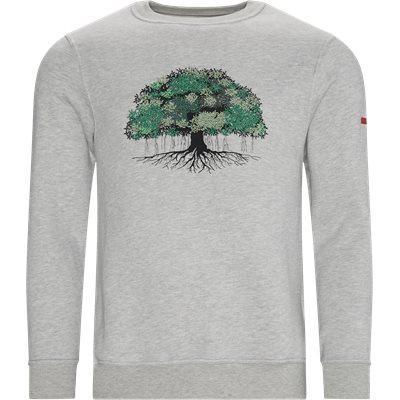 Tree Crewneck Sweatshirt Regular fit | Tree Crewneck Sweatshirt | Grå
